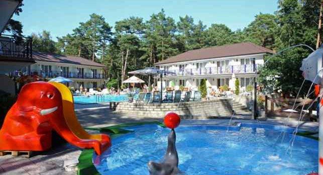 Ferienanlage Gryf Pobierowo an der polnischen Ostsee