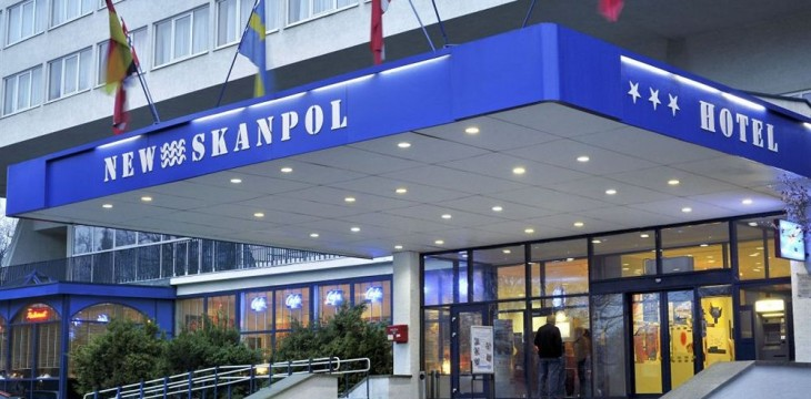 Hotel New Skanpol in Kolberg