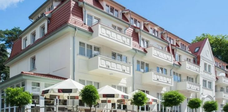 7 Nächte Insel Usedom Hotel Kaisers Garten